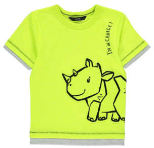 George Neon Dinosaur T-Shirt