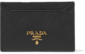 Prada Textured-leather Cardholder