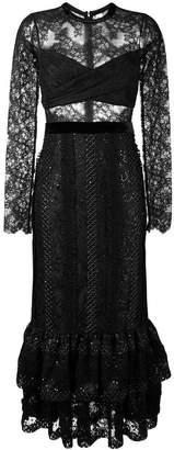 Three floor Black Mirror dress