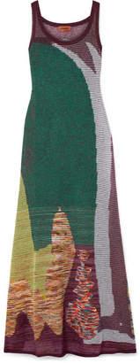 Missoni Crochet-knit Maxi Dress - Green