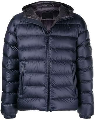 Prada hooded padded jacket