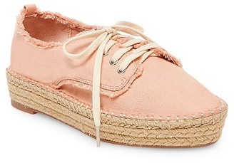 dv Women's dv Roxie Canvas Lace Up Espadrille Sneakers $27.99 thestylecure.com
