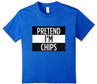 Pretend I'm Chips - Funny Costume T-Shirt