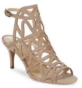 Vince Camuto Prisintha Suede Leather Dress Sandals