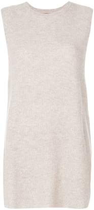 N.Peal cashmere sleeveless knit tunic