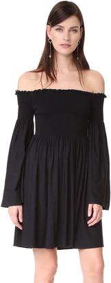 MLM LABEL Portland Off Shoulder Dress $180 thestylecure.com