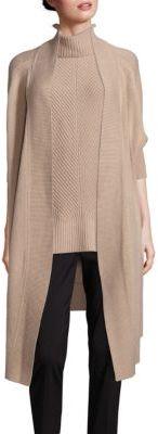 BOSS Farela Knit Open-Front Cardigan $545 thestylecure.com