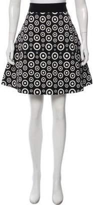 Fausto Puglisi Printed Knee-Length Skirt