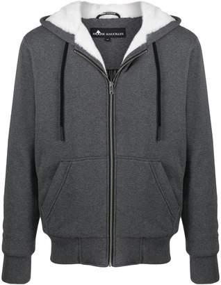 Moose Knuckles faux fleece-lined hoodie