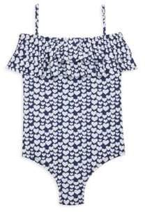 Melissa Odabash Little Girl's & Girl's One-Piece Ivy Swimsuit
