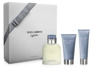 Dolce & Gabbana Light Blue Pour Homme Eau de Toilette Three-Piece Holiday Gift Set