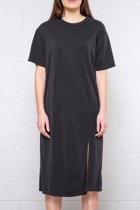 Everly Short Sleeve Slit Dress $55 thestylecure.com
