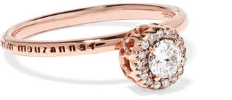 Selim Mouzannar - Beirut 18-karat Rose Gold Diamond Ring