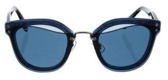 Miu Miu Oversize Acetate Sunglasses