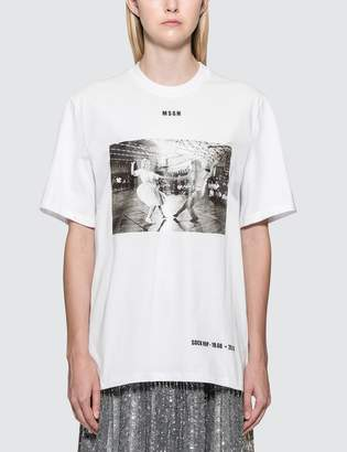 MSGM Sock Hop Short Sleeve T-Shirt