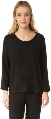 Eberjey Sweater Weather Long Sleeve Tee $97 thestylecure.com