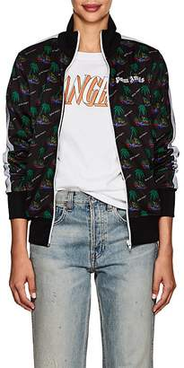 Palm Angels Women's Palm-Tree-Print Track Jacket
