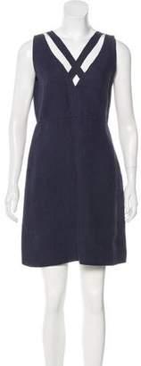 Valentino Linen Sleeveless Dress