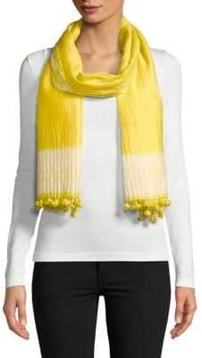 Eileen Fisher Hand Loomed Silk-Blend Scarf
