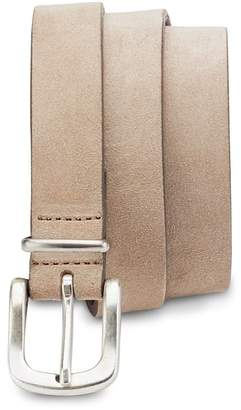 Eleventy Stretch Suede Belt