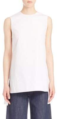 ADAM by Adam Lippes Solid Sleeveless Blouse
