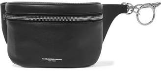 Ace Leather Belt Bag - Black