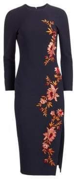 Cinq à Sept Lexi Embroidered Floral Dress