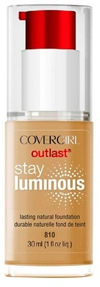 COVERGIRL Outlast Stay Luminous Foundation $8.49 thestylecure.com