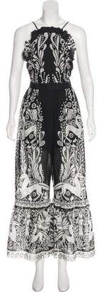 Alice McCall Printed Sleeveless Romper