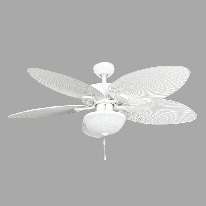 Sahara Fans Tortola 52 in. Outdoor White Ceiling Fan