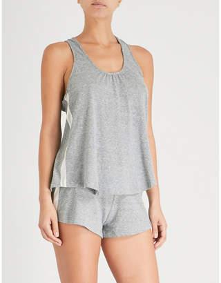 Eberjey Heather Active jersey pyjama top