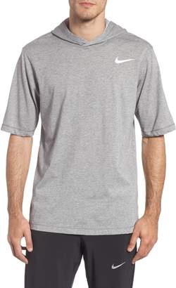 Nike Training Dry Short Sleeve Hoodie