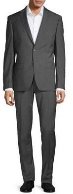Calvin Klein Mini Check Stretch Suit