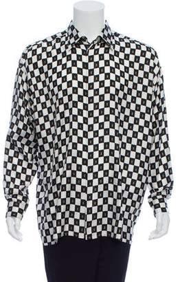 Gianni Versace Vintage Silk Printed Shirt