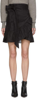 Etoile Isabel Marant Black Tempster Miniskirt