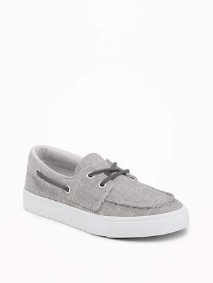 Old Navy Chambray Boat Shoes for Boys