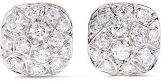 Pomellato Nudo Solitaire 18-karat Rose And White Gold Diamond Earrings - Rose gold