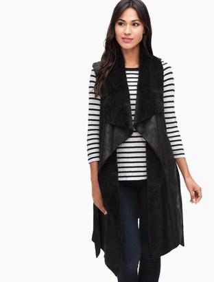 Solenn Draped Vest $228 thestylecure.com
