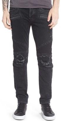 Men's Hudson Jeans 'Blinder' Skinny Fit Moto Jeans $275 thestylecure.com