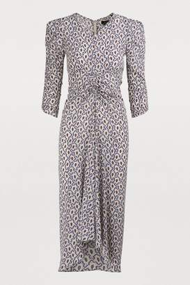 Isabel Marant Albi silk dress