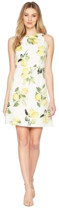 Adrianna Papell Fresh Lemon A-Line Dress Women's Dress