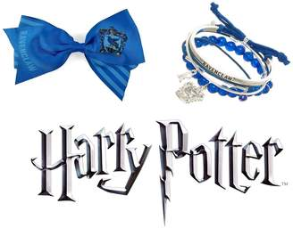 Bioworld Harry Potter Ravenclaw Cheer Hair Bow N' Arm Party Bracelet Jewelry Set