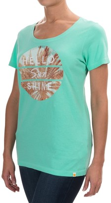 Life is good® Creamy Graphic T-Shirt - Short Sleeve (For Women) $14.99 thestylecure.com