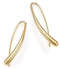 Bloomingdale's 14K Yellow Gold Long Tear Drop Earrings - 100% Exclusive