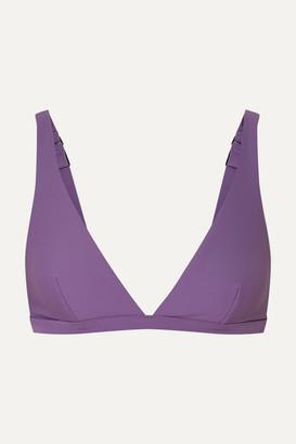 Matteau - The Plunge Bikini Top - Lilac