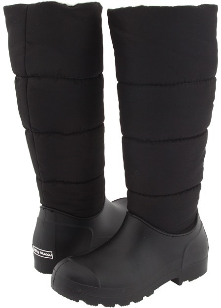 Chinese Laundry Puffy (Black) - Footwear