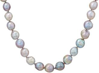 """Honora Gray Ming Cultured Pearl Sterling 18"""" Necklace"""