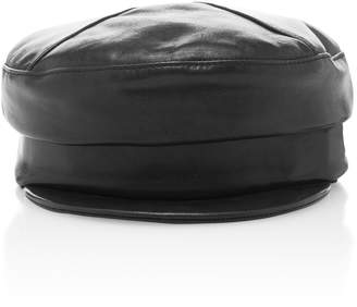 70b5e129a0b Gigi Burris Georgie Leather Hat
