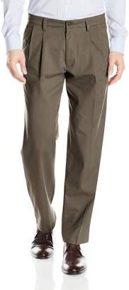 Dockers Easy Khaki Classic Fit Pant-Pleated D3, Dark Pebble, 40 34