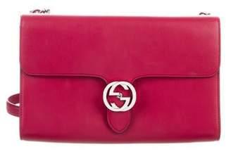 fc39191b0 Gucci Medium Interlocking Shoulder Bag